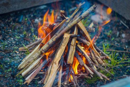fire recreation nature