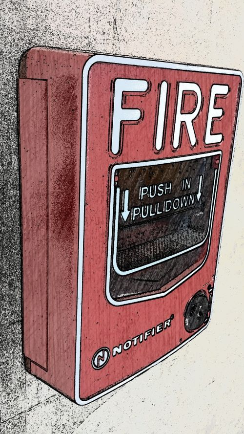 fire pull station emergency