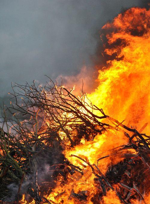 fire flame bonfire