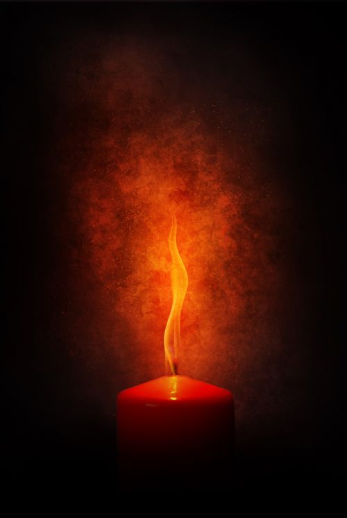 fire flame candle