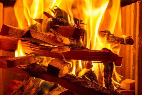 fire flame wood