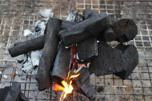 fire charcoal barbecue