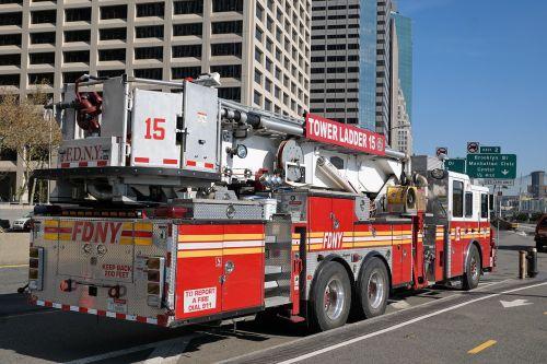 fire new york usa