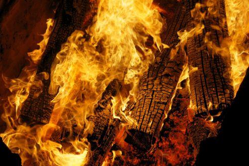 fire campfire warm
