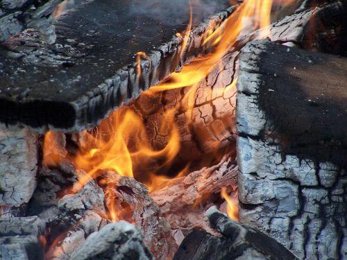 fire camp fire hot
