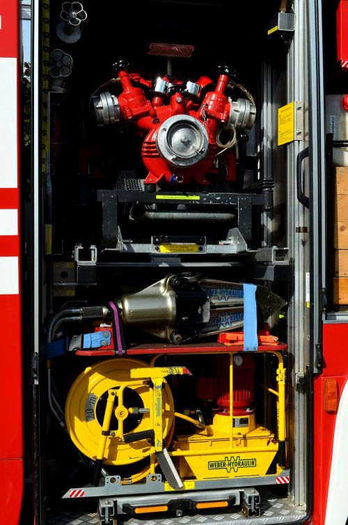 fire firefighter equipment equipment fire truck