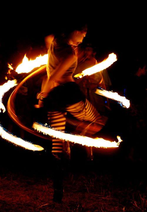 fire fire dancer tights