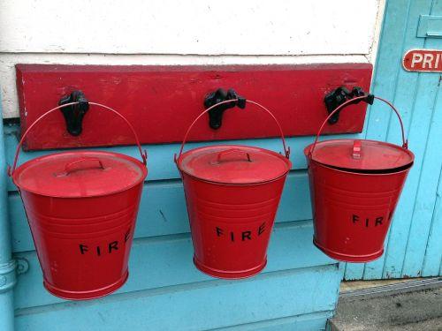 fire water bucket