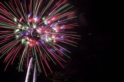 fire fireworks burst