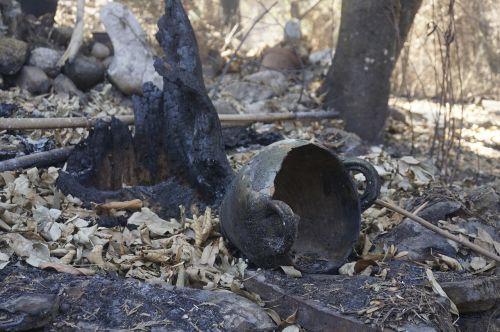 fire gray destruction