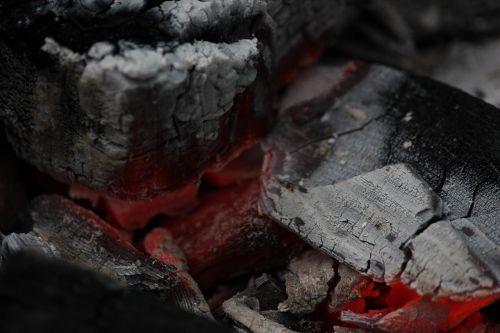 fire coals macro