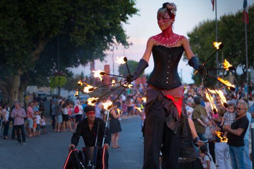 fire juggler holidays