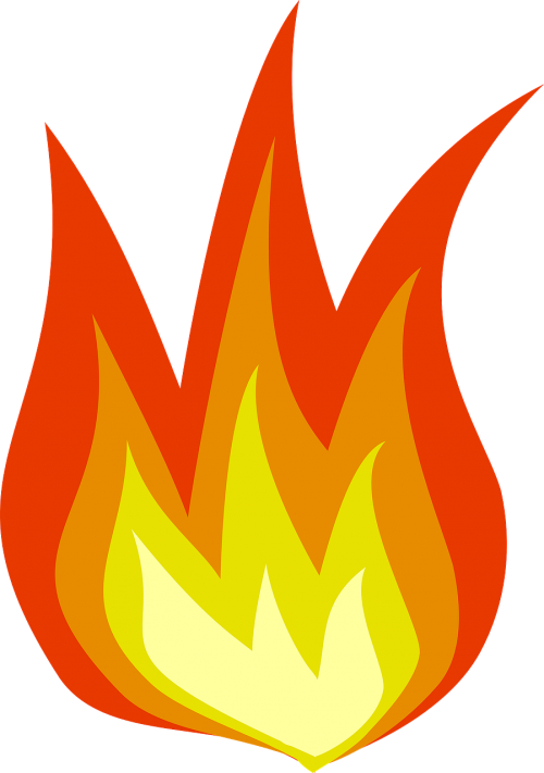 fire yellow flame