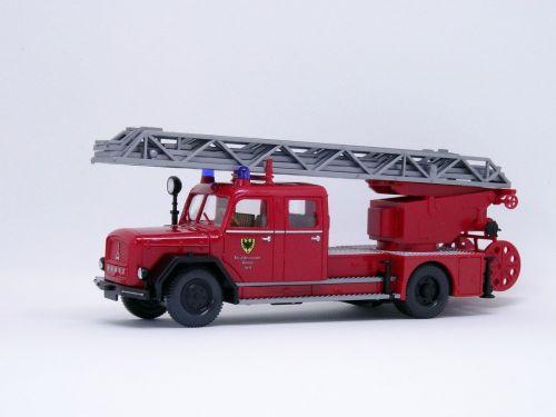 fire turntable ladder magirus