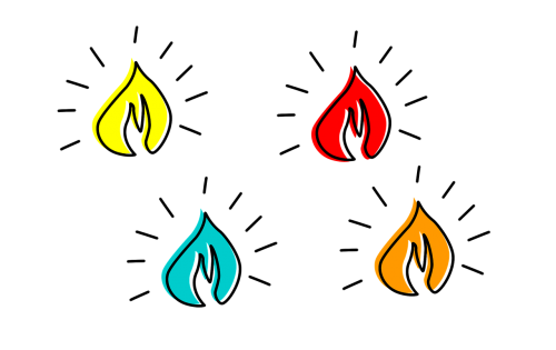 fire calls candle