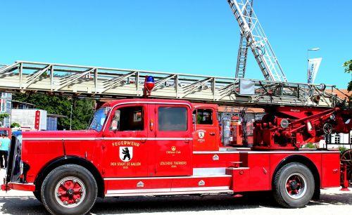 fire fire truck oldtimer