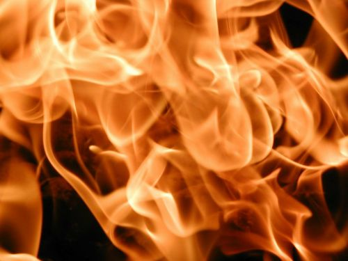 fire embers hot