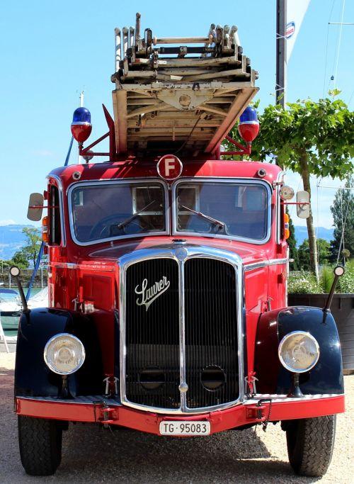 fire vehicle oldtimer