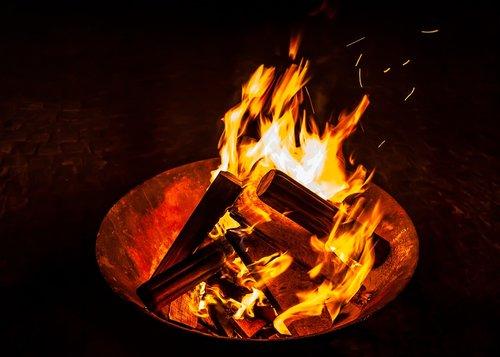 fire  fireplace  campfire