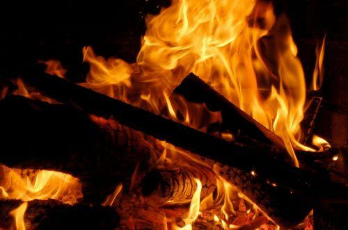fire bonfire flames