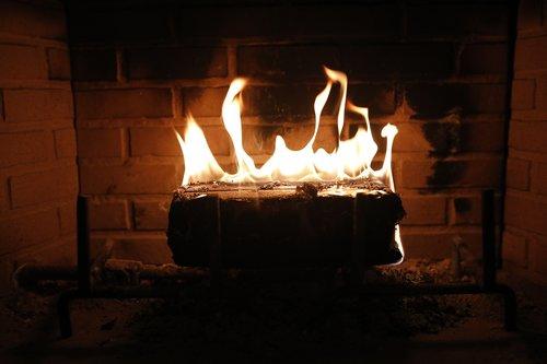 fire  fireplace  flame