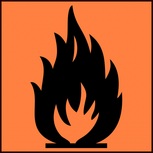 fire warning flame