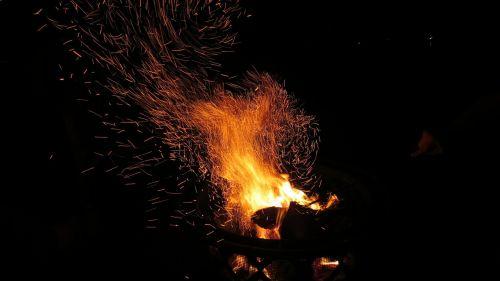 fire fireplace fire pit