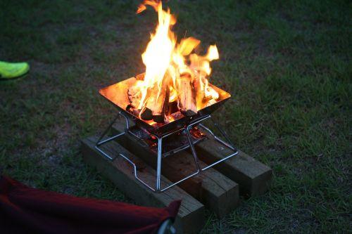 fire bonfire camping