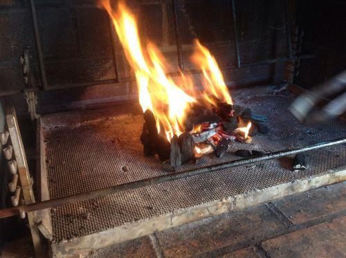 fire bbq barbecue