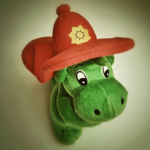 fire grisu stuffed animal