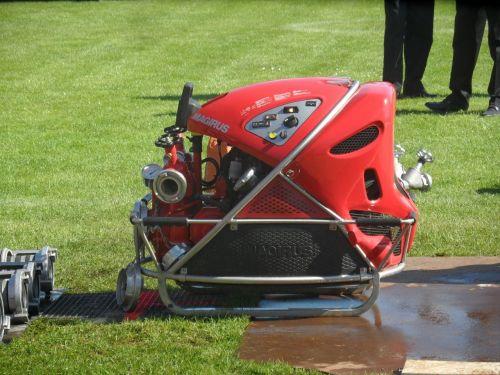 fire magirus portable pump