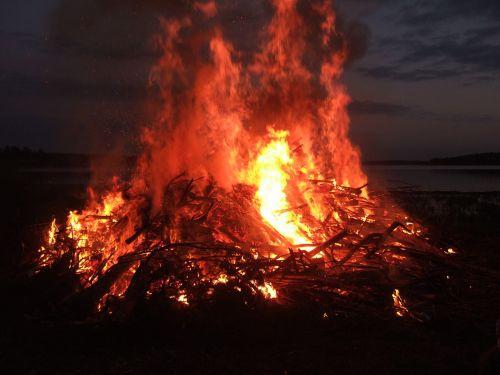 fire flames warm