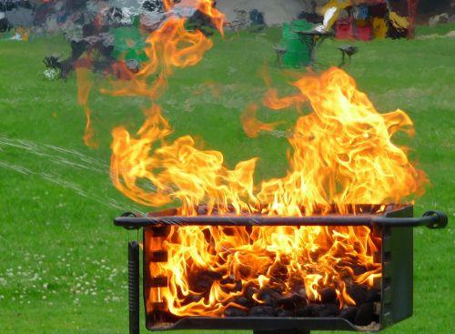 fire bbq grill