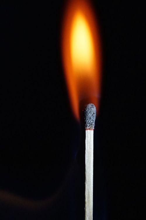 fire flame match
