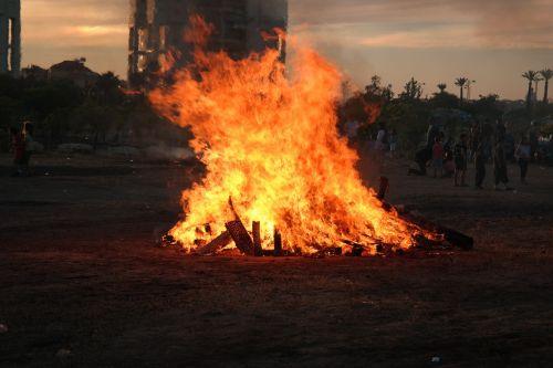 fire flames burn