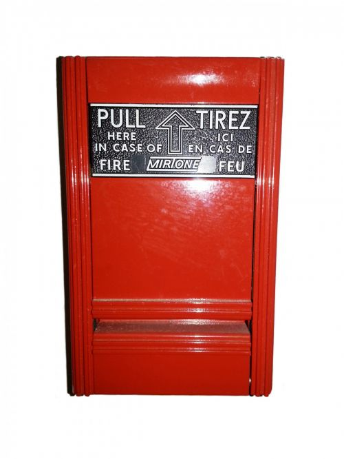 Fire Alarm Lever