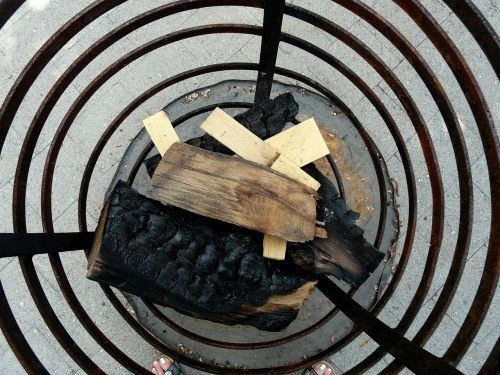fire basket combs thread cutting firewood