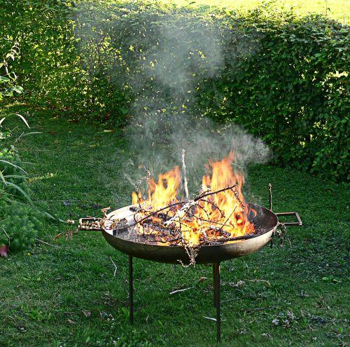 autumn garden fire bowl