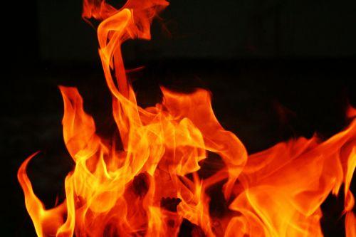 Fire Burning 1