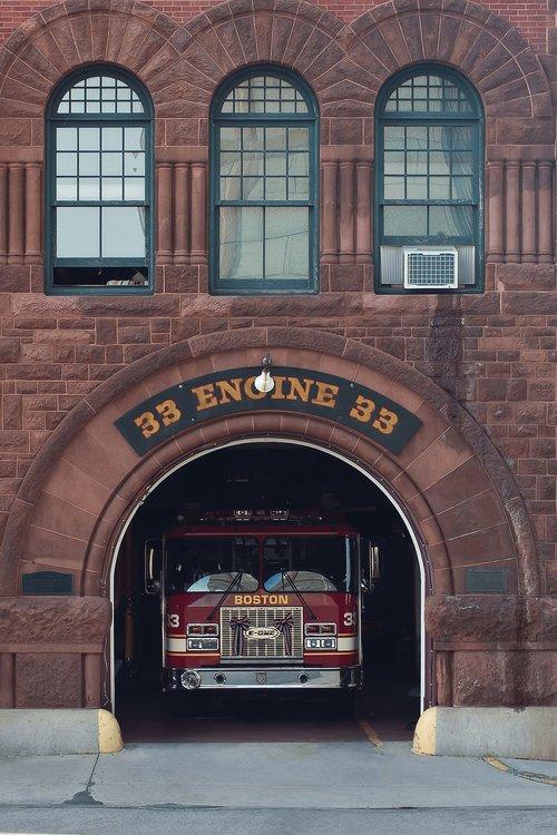 fire department  station  firetruck