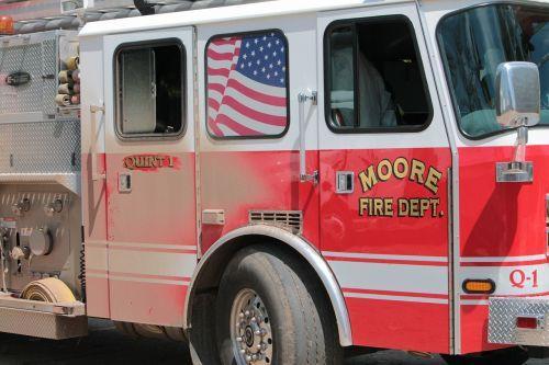 fire engine moore oklahoma