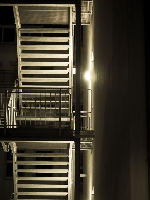 fire escape stairs escape route