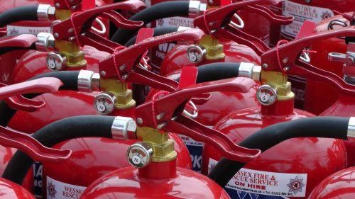 Fire Extinguisher Tops