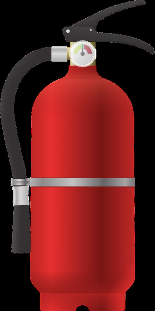 fire extinguisher fire fire truck