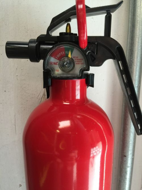 fire extinguisher safety extinguisher