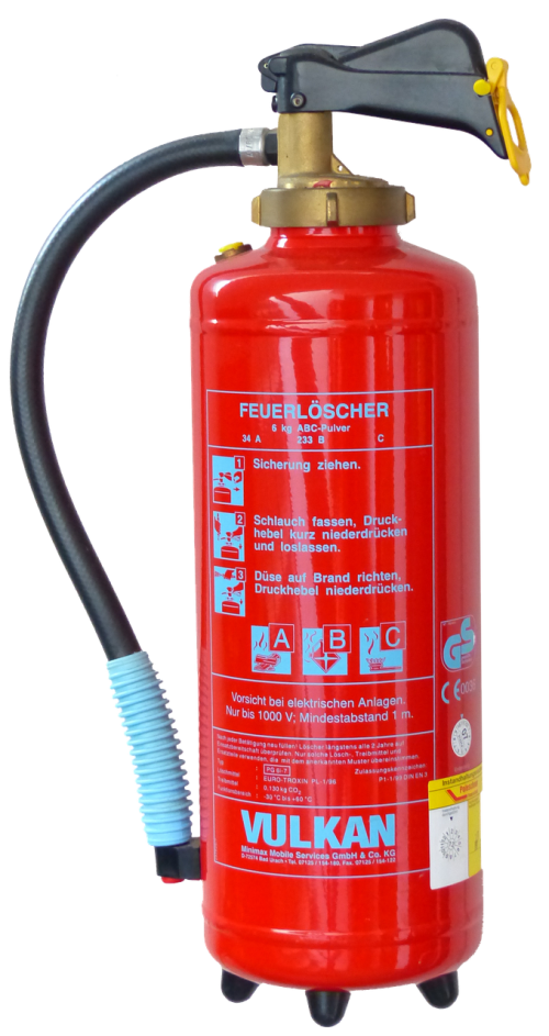fire extinguisher isolated fire