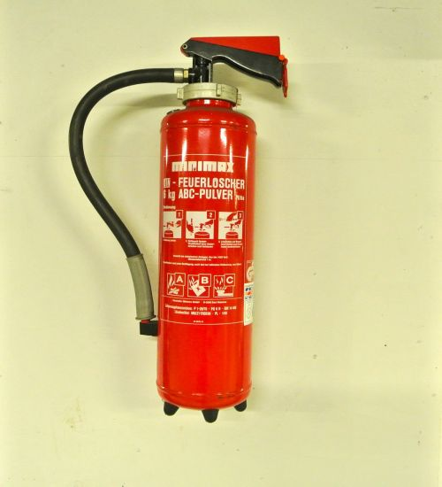 fire extinguisher red fire