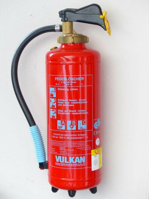 fire extinguisher fire delete