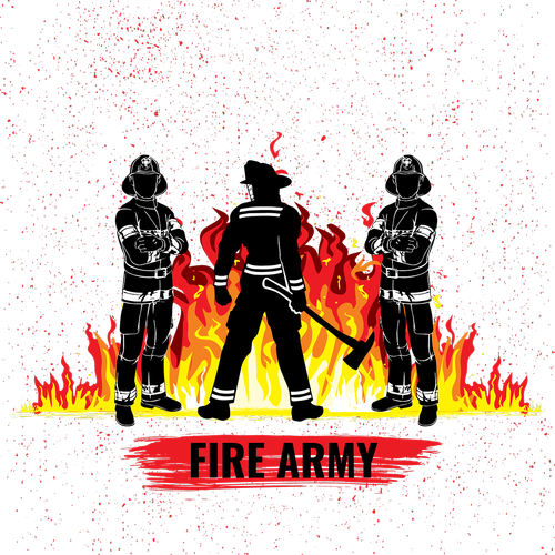 fire fighter  firefighters  fire