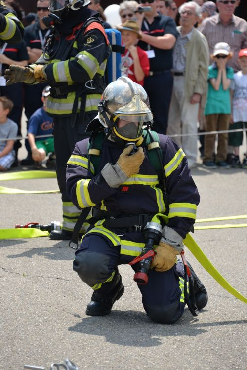 fire fighter fire respiratory protection